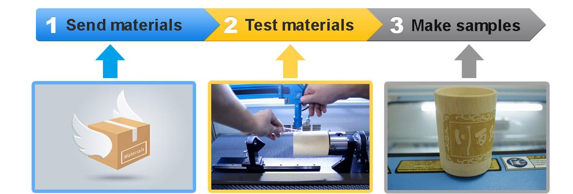 laser cutter materials