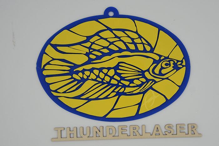 Акрил fish Лазерний станок