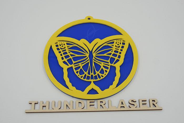 Акрил butterfly Лазерний станок