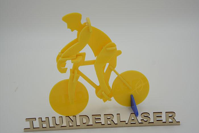 Акрил ride a bike Лазерний станок