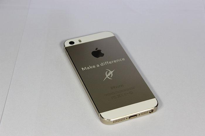 iphone-mobile-phone фото зразка лазерного різака