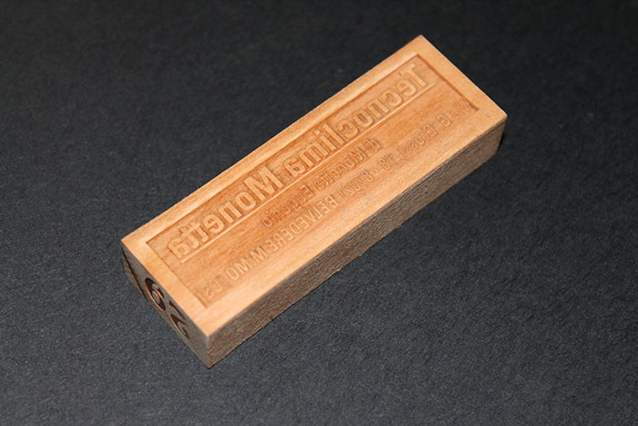 stamp фото зразка лазерного різака