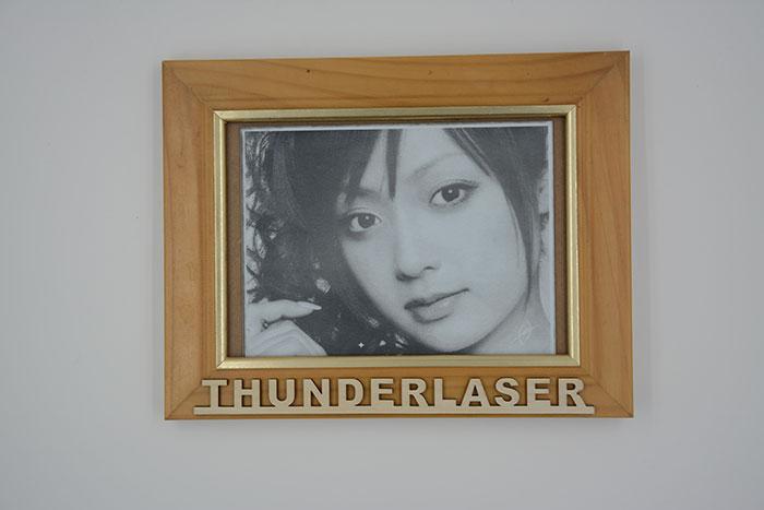 portrait ABS Лазерный гравер