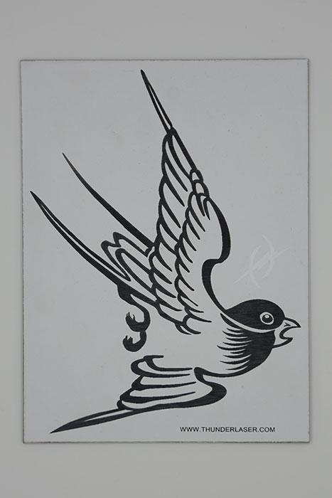bird ABS Лазерный гравер