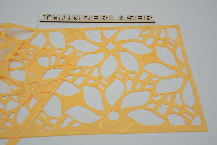 yellow Тканино-шкіряний лазерний різак
