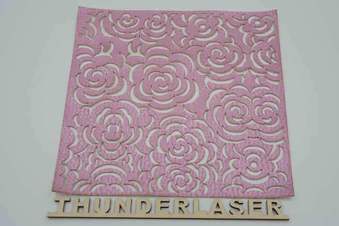 pink Тканино-шкіряний лазерний різак