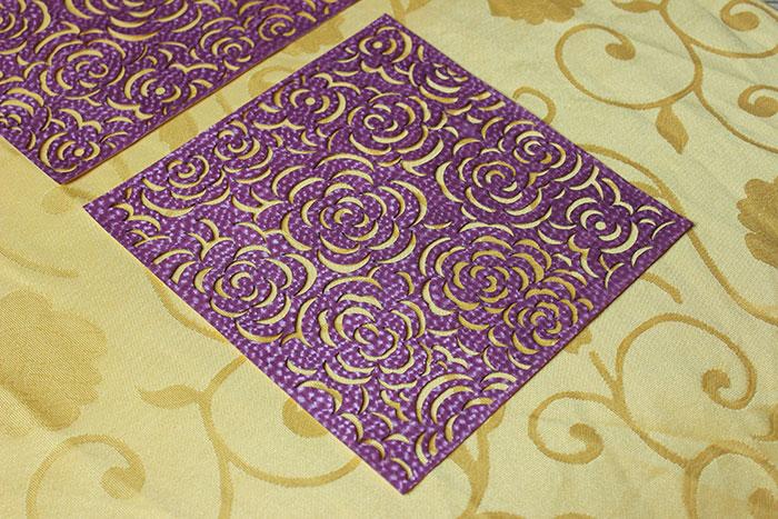 purple Тканино-шкіряний лазерний різак