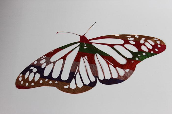 butterfly Тканино-шкіряний лазерний різак
