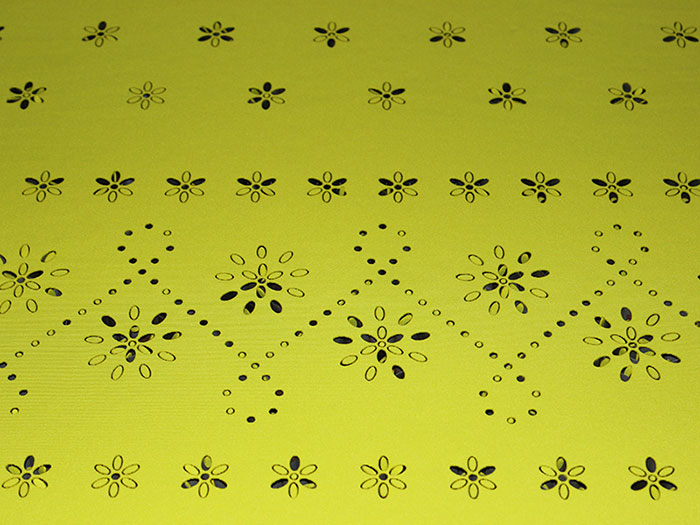 light green Тканино-шкіряний лазерний різак
