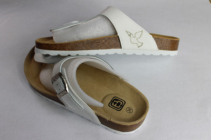 Fabric-Leather shoes laser cutter