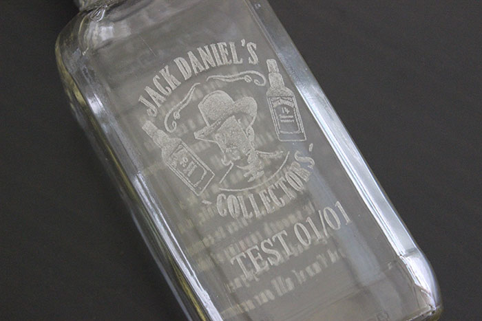 Glass Wine bottle laser engraver