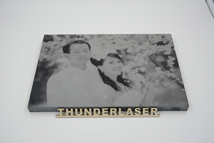 Wedding photo Granite-And-Marble laser engraver