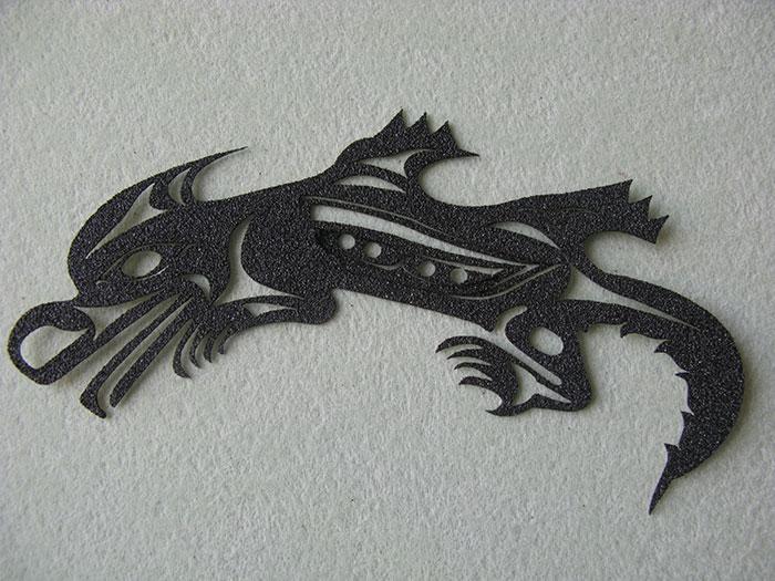 dragon Grip-Tape-photo laser cutter