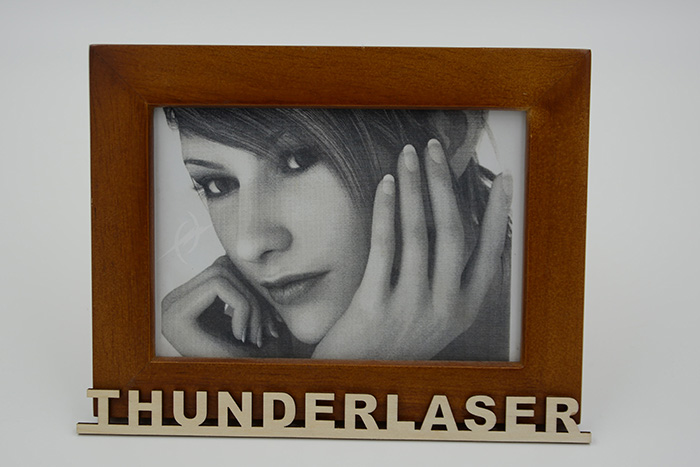 Character photo High-Resolution laser engraver