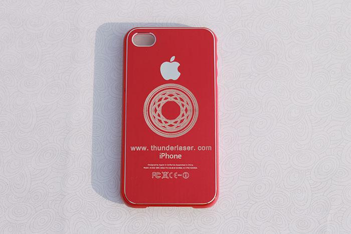 red Mobile-Phone laser engraver