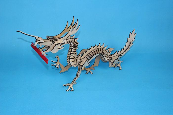dragon Model laser cutter