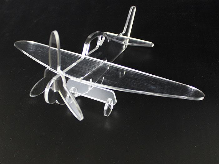acrylic air plane Model laser cutter