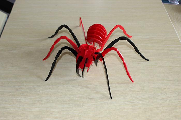 spider Model laser cutter