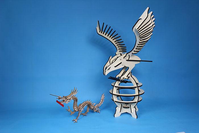 eagle Model laser cutter