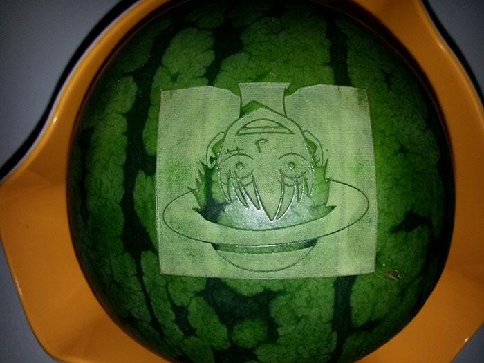 watermelon Лазерный гравер