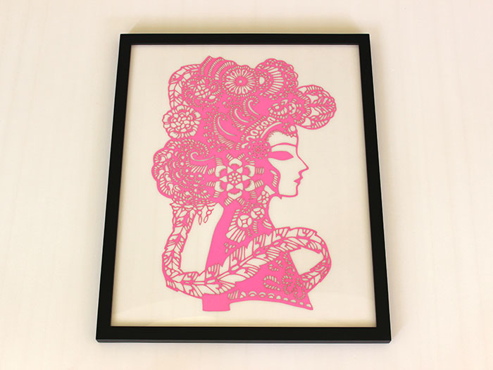 pink people Paper laser cutter