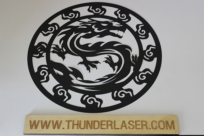 black dragon Paper laser cutter