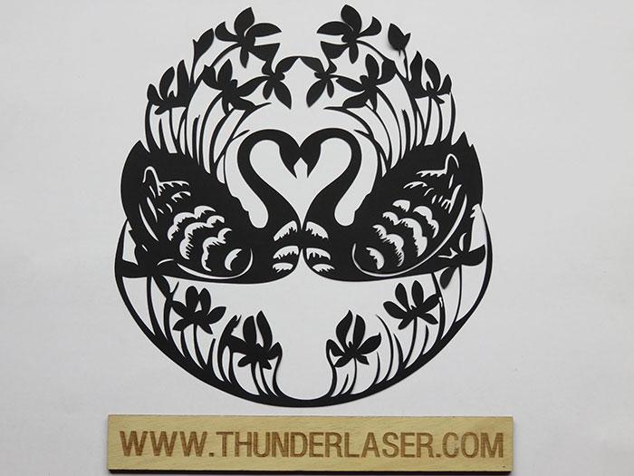 swan Paper laser cutter