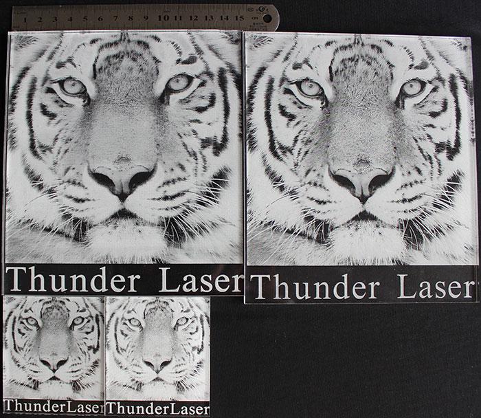 tiger фото Лазерный гравер