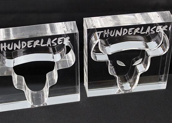 Акрил cow head Лазерний станок
