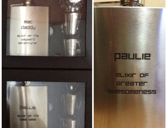 bottle Metal-Engraving laser engraver