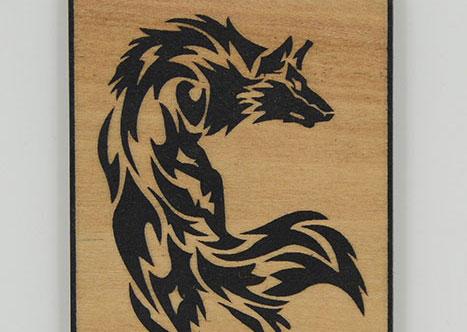 wood wolf Лазерний станок для фанери
