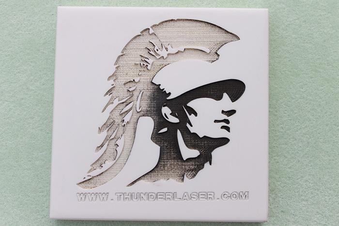 warrior камінь фото Лазерный гравер