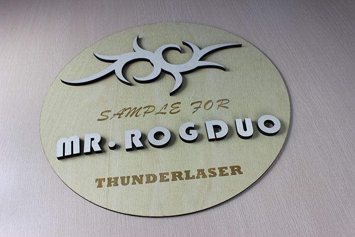 wood disc Лазерний станок для фанери