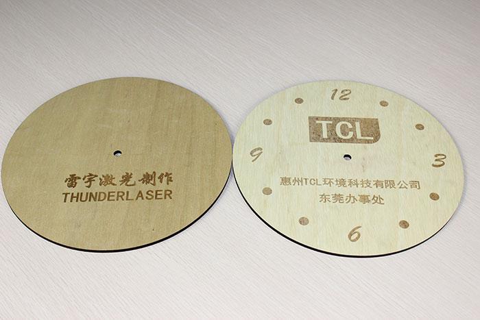 wood twoclock Лазерний станок для фанери