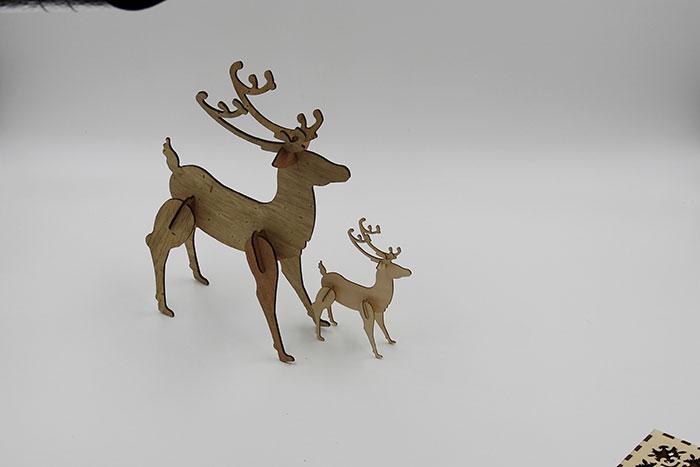 wood elk Лазерний станок для фанери