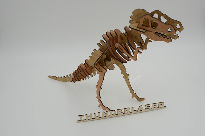 wood dinosaur Лазерний станок для фанери