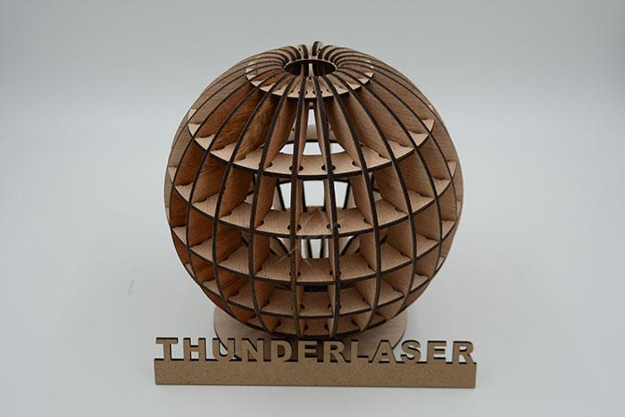 wood globe Лазерний станок для фанери
