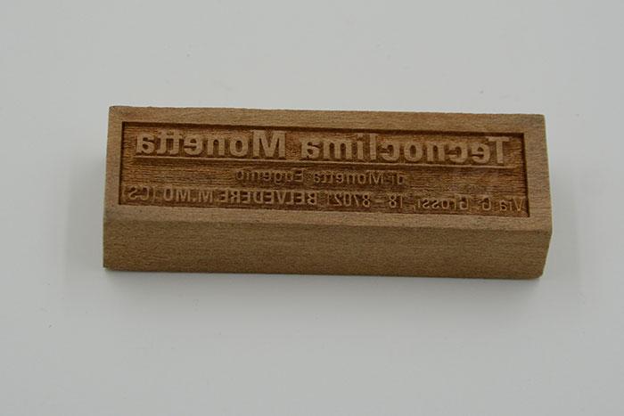 wood block Лазерний станок для фанери