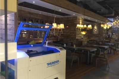 SegMaker Exhibition Center of Thunder Laser System