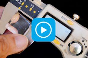 лазерний виріз акрилом 0,79 дюйма / 20 мм