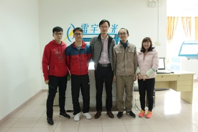 Hongkong Customers Visit For A Laser For their Startup Company