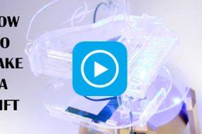 Як зробити подарунок для коханого лазерним різаком?