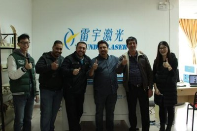 【Thunderlaser View】Customers visit us and bring new boom