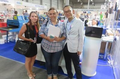 KYIV FASHION show get a successful conclusion – THUNDER LASER start international market