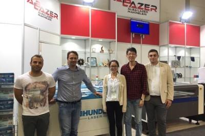 Thunderlaser News | Meet Istanbul international advertising fair, meet you!