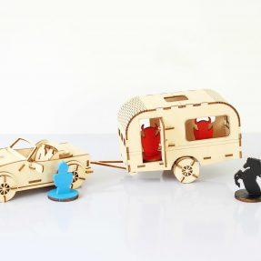 дизайн лазерного різання – Як зробити автомобіль і караван